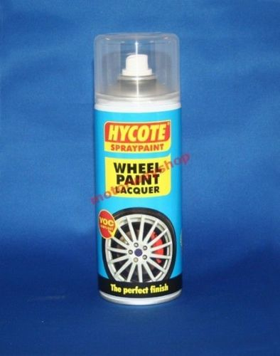 Wheel Paint Clear Lacquer Spray Paint Hycote 400ml